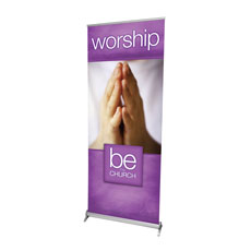 Be the Church Worship Banner