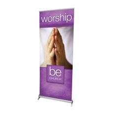 Be the Church Worship Banner