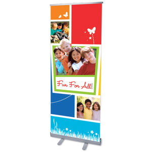 "VBS Youre Invited 2'7"" x 6'7""  Vinyl Banner"
