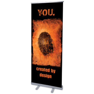 "Created by Design 2'7"" x 6'7""  Vinyl Banner"