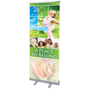 Belong Spring Banners