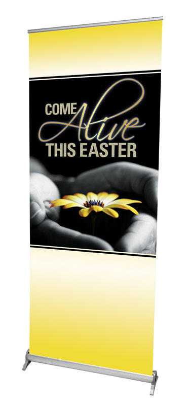 Banners, Easter, Come Alive Easter, 2'7 x 6'7