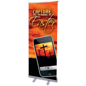"Capture Easter 2'7"" x 6'7""  Vinyl Banner"