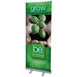 "Be The Church Grow 2'7"" x 6'7""  Vinyl Banner"