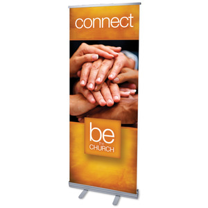 "Be the Church Connect 2'7"" x 6'7""  Vinyl Banner"