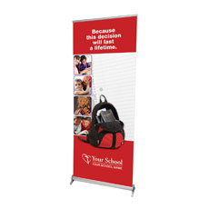 Backpack Banner