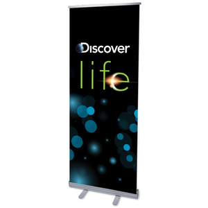"Discover Life 2'7"" x 6'7""  Vinyl Banner"