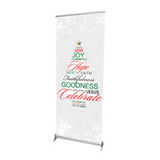 Christmas Word Tree Banner