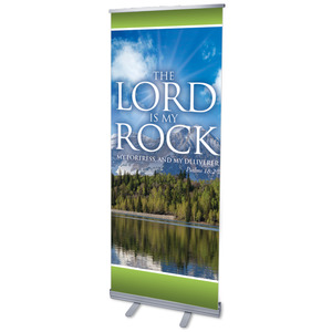 Lord My Rock Banners