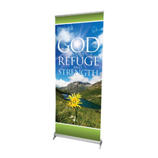 Refuge and Strength Banner
