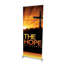 Easter Hope Cross Banner