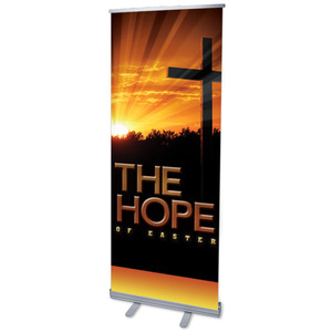 Easter Hope Cross Banners