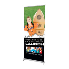 Rocket Launch Banner