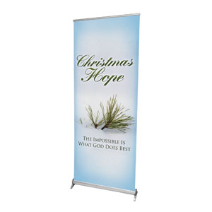 "What God Does Best 2'7"" x 6'7""  Vinyl Banner"