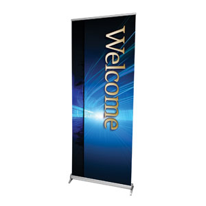 "Light Rays Welcome 2'7"" x 6'7""  Vinyl Banner"
