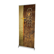 Leather Coffee Banner