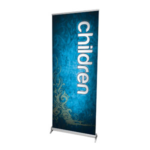 "Adornment Children 2'7"" x 6'7""  Vinyl Banner"