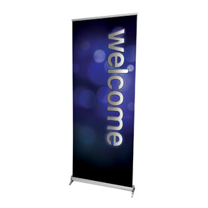 "Sparkle Welcome 2'7"" x 6'7""  Vinyl Banner"