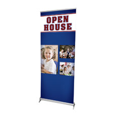 Christian School Open House Banner