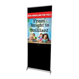 "Bright to Brilliant 2'7"" x 6'7""  Vinyl Banner"