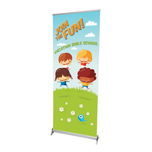 "VBS Join The Fun 2'7"" x 6'7""  Vinyl Banner"