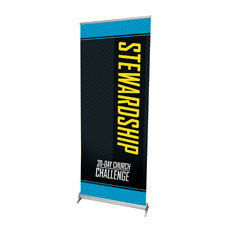 30-Day Church Challenge Stewardship Banner