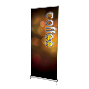 "Sparkle Coffee 2'7"" x 6'7""  Vinyl Banner"