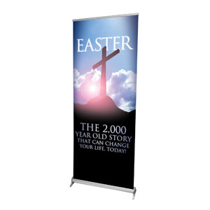 "2000 Year Old Story 2'7"" x 6'7""  Vinyl Banner"