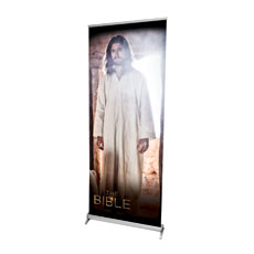 The Bible Risen Christ Banner