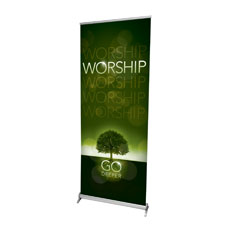 Deeper Roots Worship Horizontal Banner