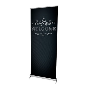"Chalk Welcome 2'7"" x 6'7""  Vinyl Banner"