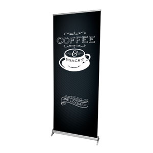 "Chalk Coffee 2'7"" x 6'7""  Vinyl Banner"