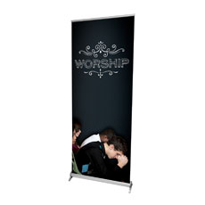 Chalk Worship People Banner