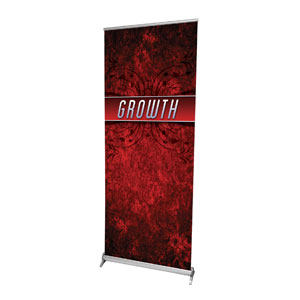 "You Belong Growth 2'7"" x 6'7""  Vinyl Banner"