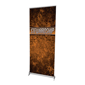"You Belong Stewardship 2'7"" x 6'7""  Vinyl Banner"