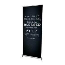 Chalk Prov 8:32 Banner