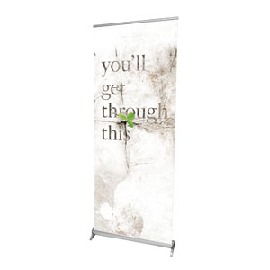 "Get Through This 2'7"" x 6'7""  Vinyl Banner"