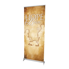 Hope is Born Banner