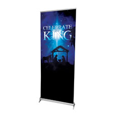 Celebrate the King M Banner