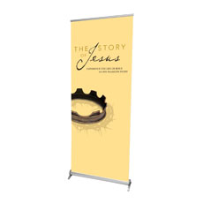 The Story Of Jesus Banner