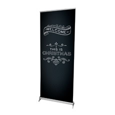 Chalk Christmas Banner