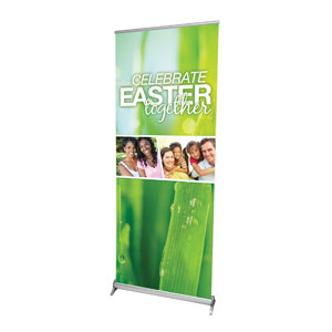"Easter Together 2'7"" x 6'7""  Vinyl Banner"