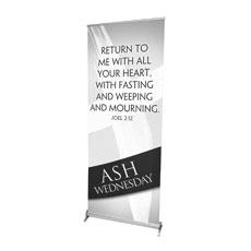 Easter Ribbon Ash Banner
