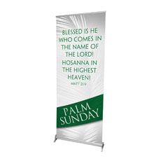 Easter Ribbon Palm Banner
