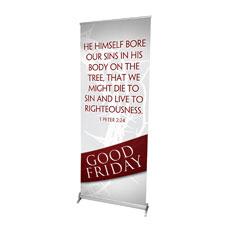 Easter Ribbon Friday Banner