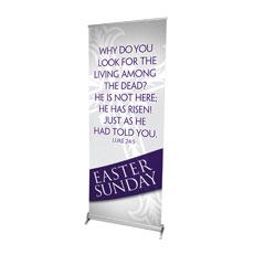 Easter Ribbon Sunday Banner