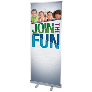 "VBS Green Blue Red 2'7"" x 6'7""  Vinyl Banner"