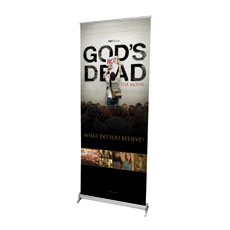 God's Not Dead Roll Up Banner