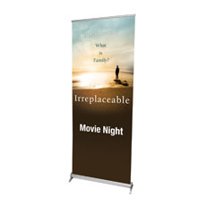 Irreplaceable Indoor Banner