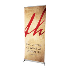 Faith Triptych Right Banner
